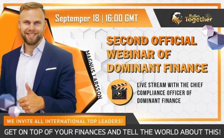 Dominant Finance Webinar Magnus Larsson
